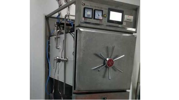 2021年10月14日,上海达沃为客户进行生物灭菌柜验证测试服务