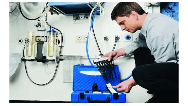 压缩空气检测的环境和设备