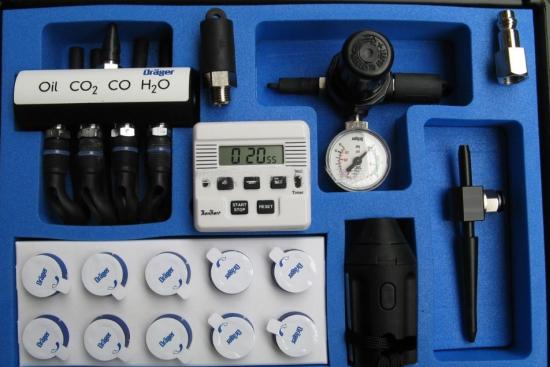 德尔格压缩气体检测仪