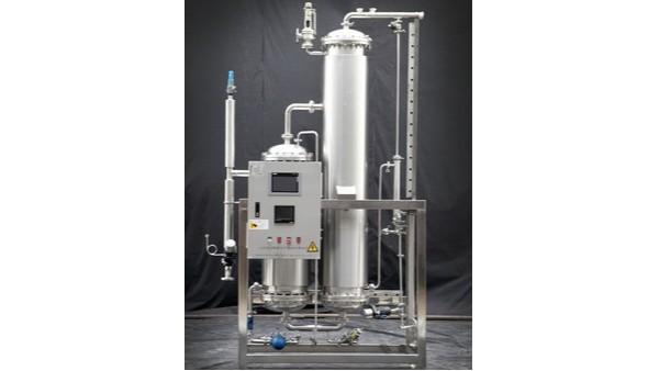 上海达沃为金山统一饮料食品有限公司进行纯蒸汽验证测试