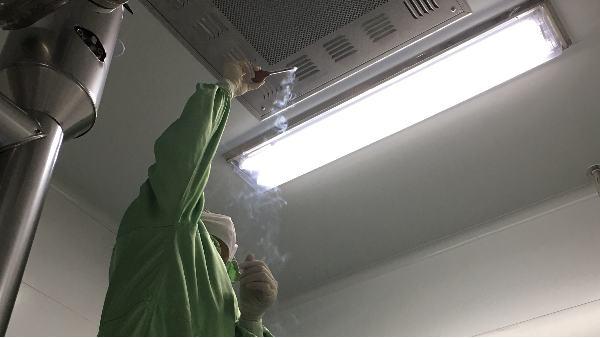 上海达沃为博莱科信谊提供洁净室检测服务