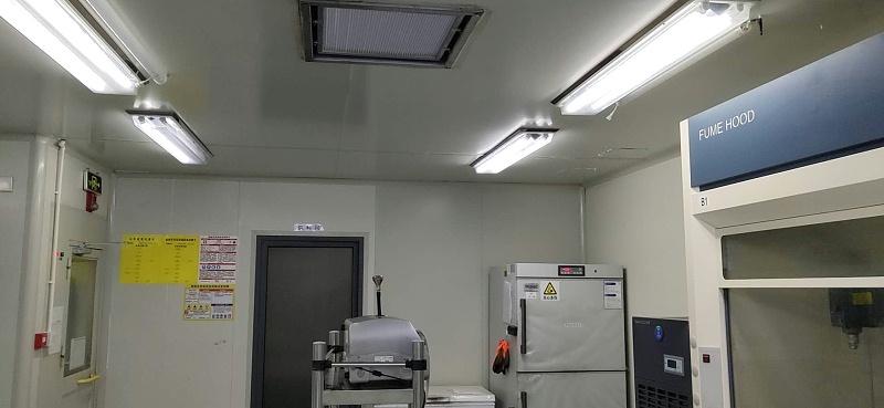 洁净室的尘埃粒子数量检测