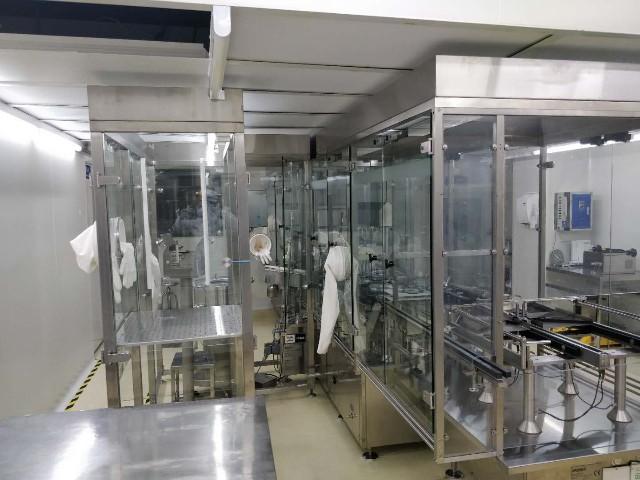 上海达沃在武汉生物研究所的培养基车间洁净室检测持续进行中