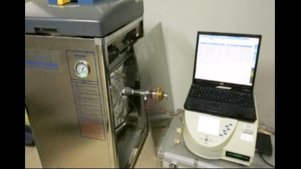 上海达沃在凯宝公司进行灭菌柜(高压锅)的验证测试