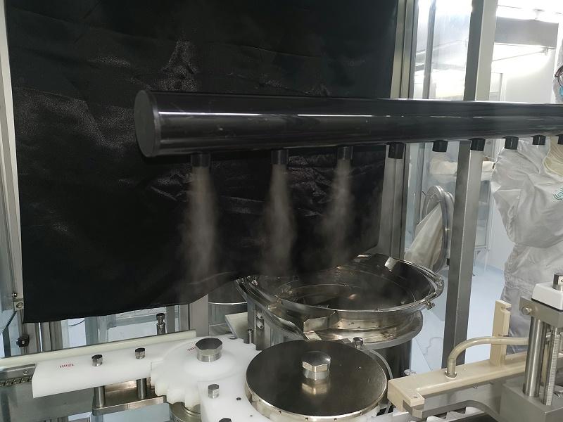 洁净室气流流型测试