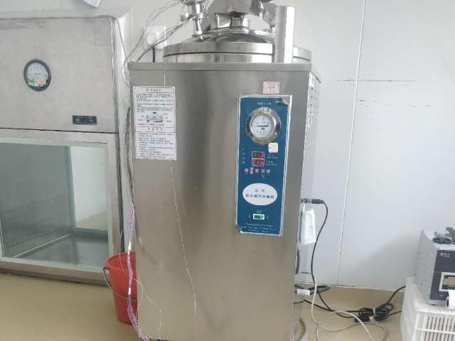上海达沃在凯宝进行了立式压力蒸汽灭菌器(灭菌柜验证)测试服务