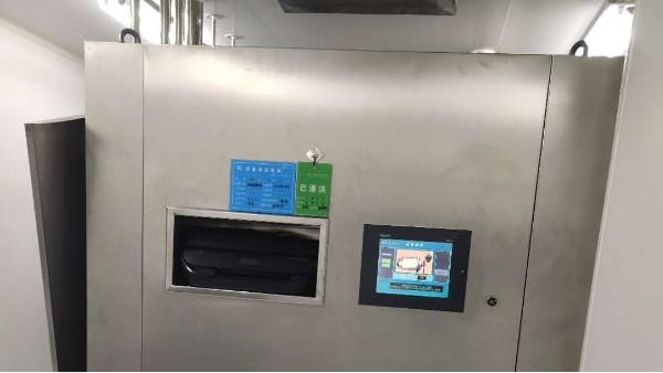 上海达沃为客户凯宝药业进行胶塞铝盖清洗机验证测试