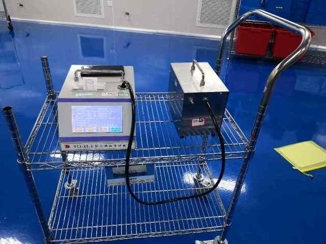 上海达沃进行空调系统和洁净室检测的设备实际模拟操作培训