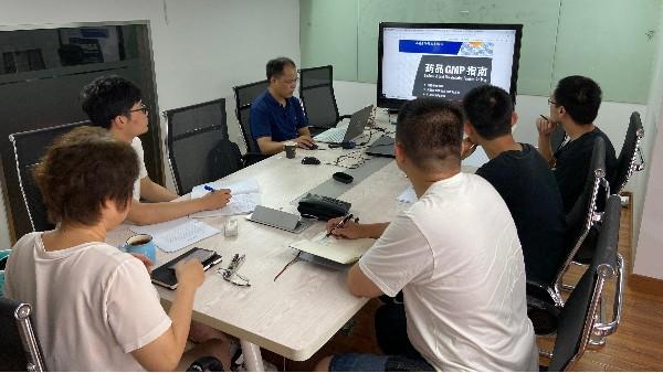上海达沃组织员工进行GMP相关知识内容培训