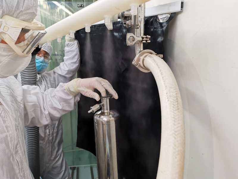 洁净室气流流型测试4